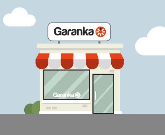 Garanka façade agence