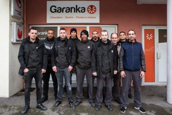 Equipe Garanka Agence Annemasse