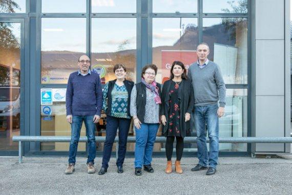 Equipe agence Garanka Grenoble