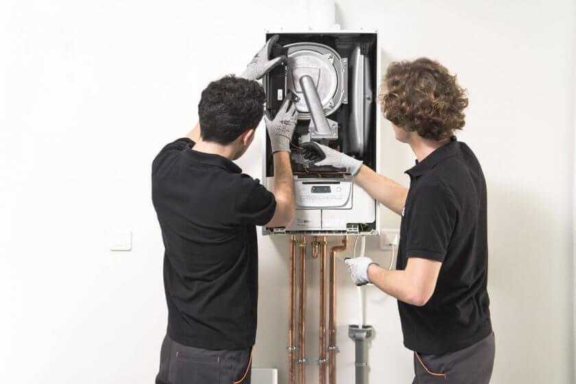 technicien entretien chaudière gaz