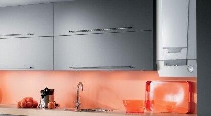 de dietrich chaudiere murale gaz dans une cuisine