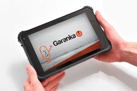 Tablette pour le technicien Garanka