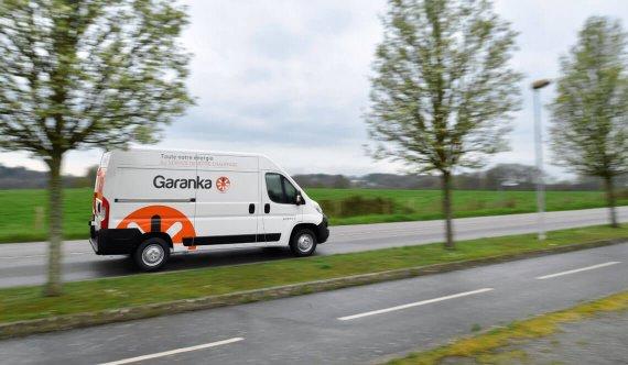 Camion Garanka sur la route
