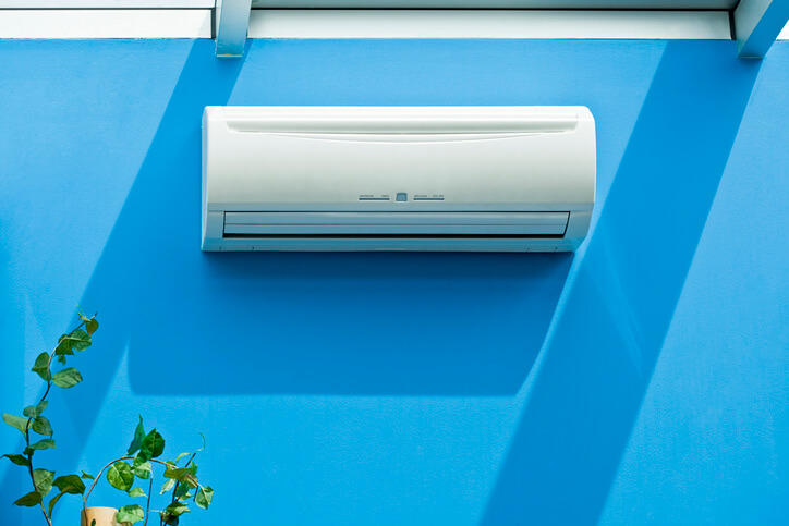 Système de climatisation split fixé au mur