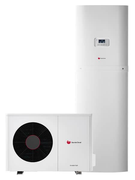 Pompe à chaleur Saunier Duval GeniaSet Split 3 - 0010028483 - Garanka