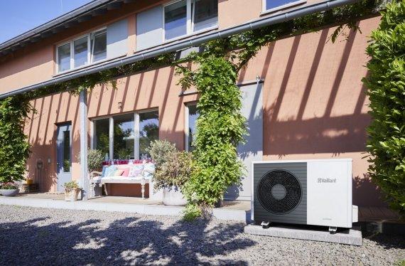 Pompe à chaleur aérothermique Vaillant