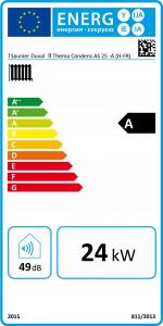 etiquette energetique chaudiere
