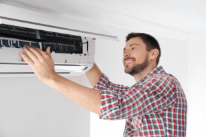 Installation modele climatisation réversible