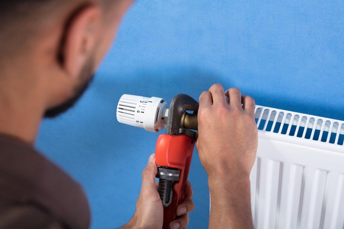 Installation vanne thermostatique